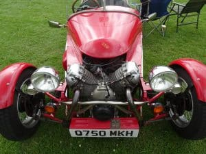 really a motor bike kit car  JSV
